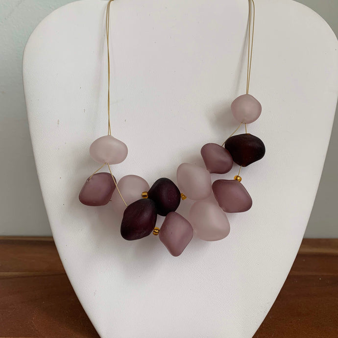 Dusty Rose - GlassRoots Signature Necklace