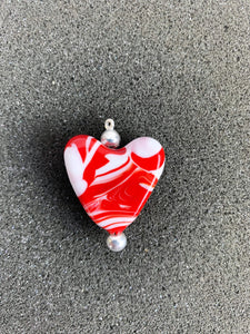 Love All Over the Place Bead - February's bead of the month