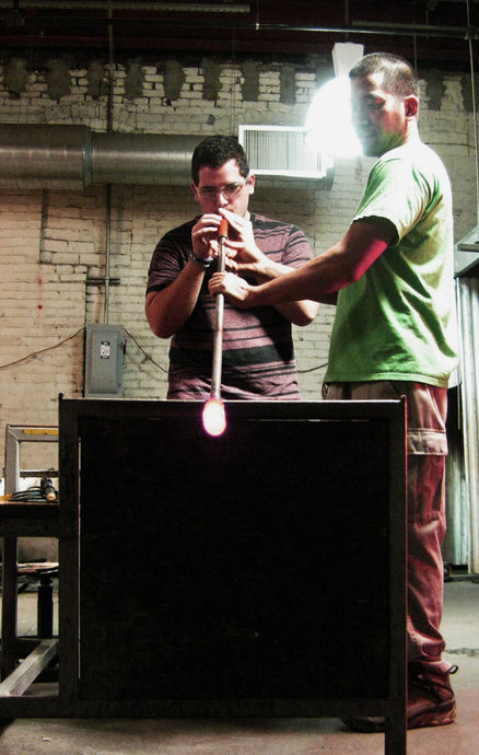 1/2 Hour Block Glassblowing Private Lesson