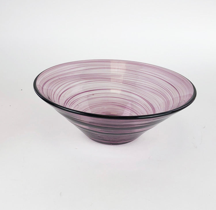 Swirly Purple Bowl