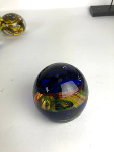 Yellow Red and Blue Paperweight (9GR318)