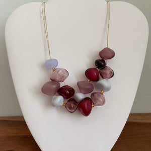 Maroon - GlassRoots Signature Necklace