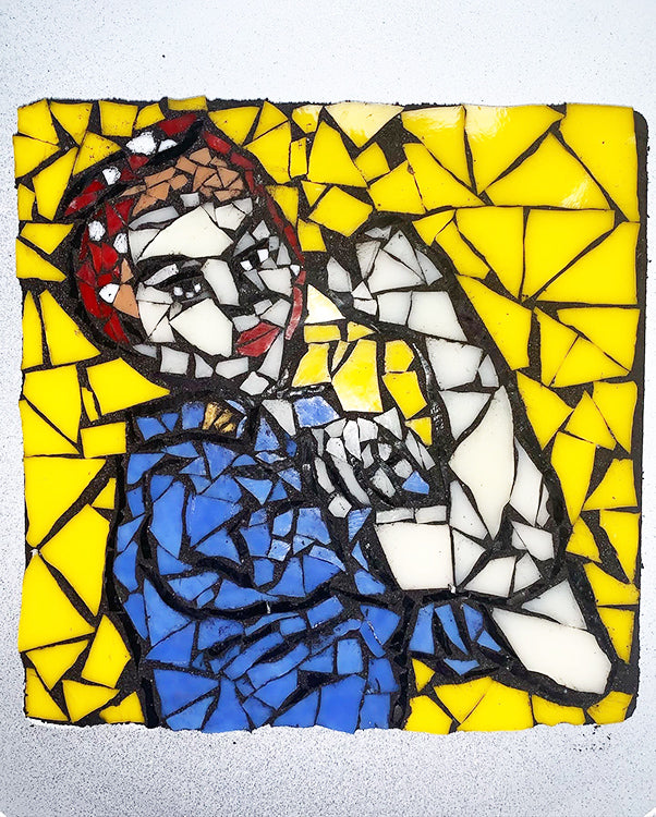 You Design It We Make It Rosie the Riveter Mosaic