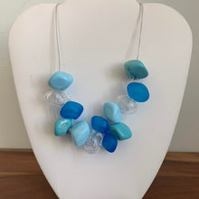 Load image into Gallery viewer, Baby Blues - GlassRoots Signature Necklace