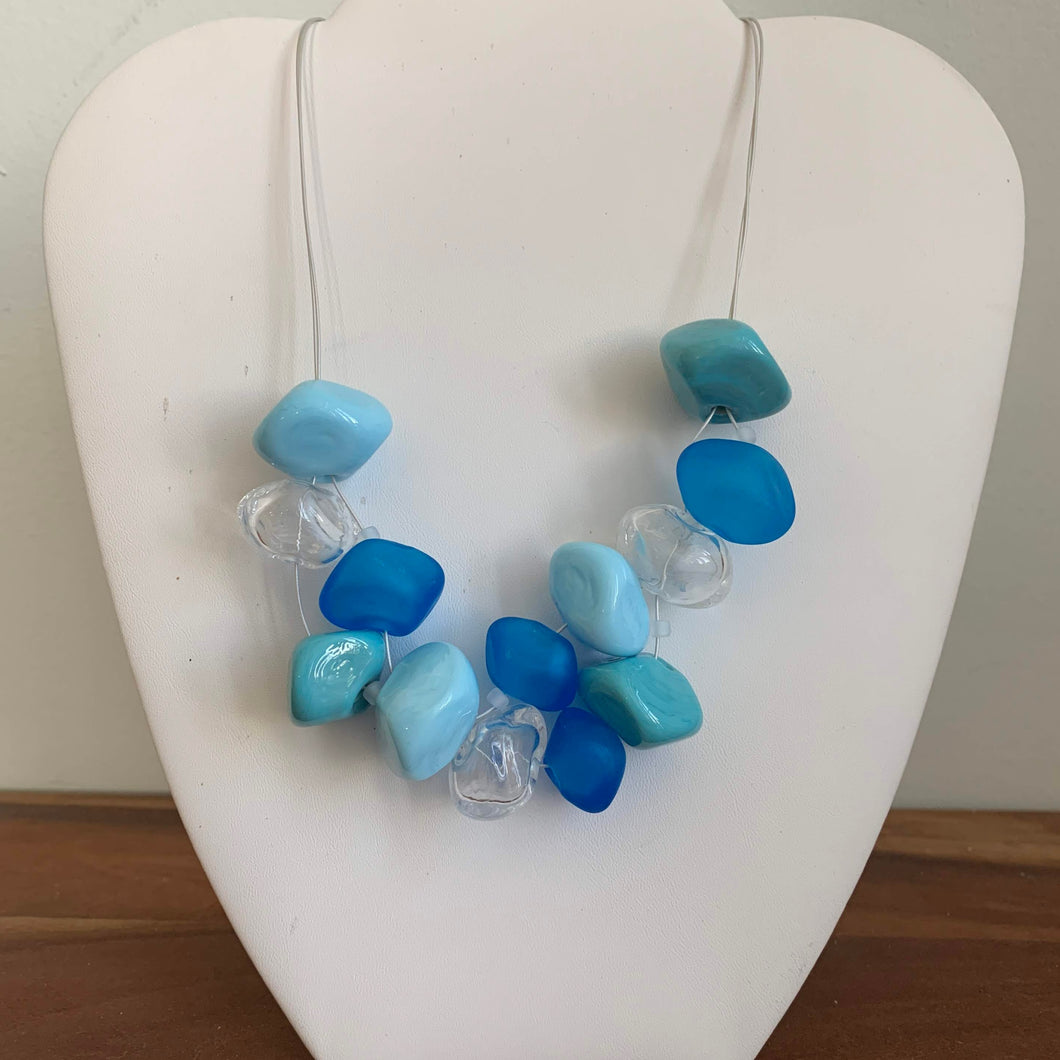 Baby Blues - GlassRoots Signature Necklace