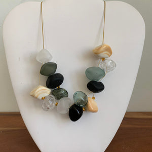 sold Black and White - GlassRoots Signature Necklace