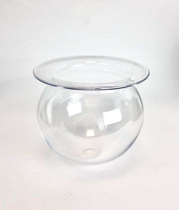 Clear Rounded Vessel