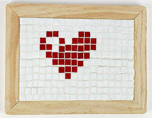 GlassRoots At Home Kit  Heart Design