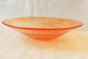 Decorative Orange Plate (8GR2020)