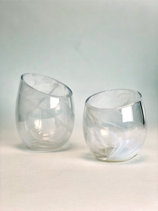 White and Clear Votives
