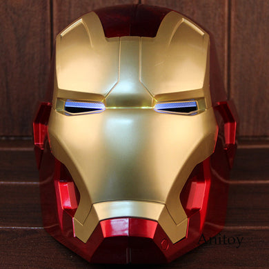 1:1 Iron Man Motorcycle Helmet Cosplay Mask For Adult Touch Sensing Mask With Led Light Super Hero Series Doll- [variant_title]