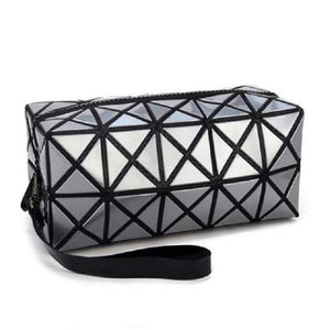 Travel Makeup Bag | Diamond Cosmetic Case- [variant_title]