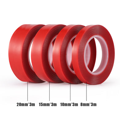 1Pcs Car Acrylic Tape Car Repair Heat Resistant Double Sided Tape for Industry Auto Household