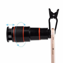 Load image into Gallery viewer, Universal HD12X Zoom Telescope For Phone | Mobile Phone Telescope- [variant_title]