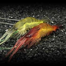 Load image into Gallery viewer, Pack of 15 | 10 | 5 PCS SET of Lifelike Luminous Shrimp Lure- [variant_title]