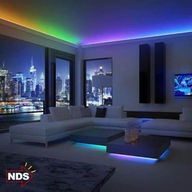 16ft Color Changing 300 LEDs Light Strip with Remote Control- [variant_title]
