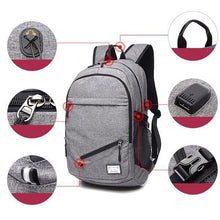 Load image into Gallery viewer, Basketball Backpack | USB Charging Sports Backpack- [variant_title]