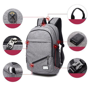 Basketball Backpack | USB Charging Sports Backpack- [variant_title]