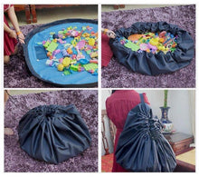 Load image into Gallery viewer, Portable Toy Storage Bag | Large Tidy Drawstring Bag- [variant_title]