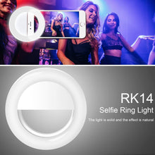 Load image into Gallery viewer, Phone Selfie Ring Light | USB Rechargeable- [variant_title]