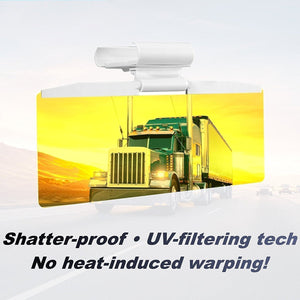 Tac Visor Day & Night Windshield- Car Sun Visor | Anti Glare Visor | UV Filtering & Protection- [variant_title]