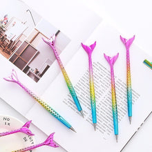 Load image into Gallery viewer, 1Pcs Creative Stationery Mermaid Ballpoint Pen Cute Signature Pen High-quality Gift Pen Office Student Supplies