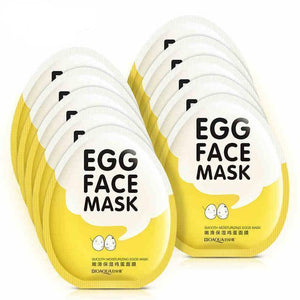 Egg Face Mask | Oil Control Moisturizing Face Mask- [variant_title]