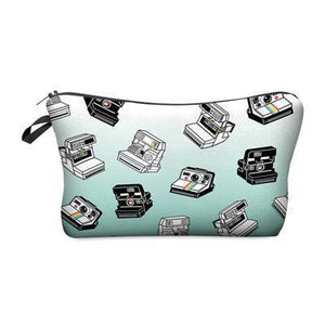 Travel Makeup Bag | Cosmetic Case | Mint Cameras- Default Title