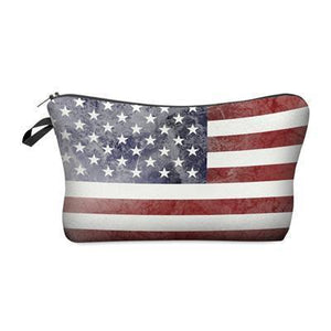 Travel Makeup Bag | Cosmetic Case | Patriot- Default Title