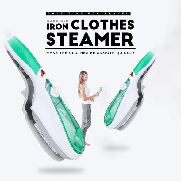 Handheld Clothes Steamer | Portable Brush Steamer- [variant_title]