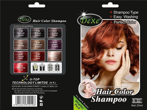 Dexe Hair Color Shampoo | Anti Gray Hair Shampoo- Wine Red