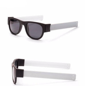 Slap Shades™ | Polarized Slappable Bracelet Sunglasses | BUY 1 GET 1 FREE- White