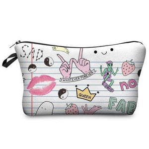 Travel Makeup Bag | Cosmetic Case | Whatever- Default Title