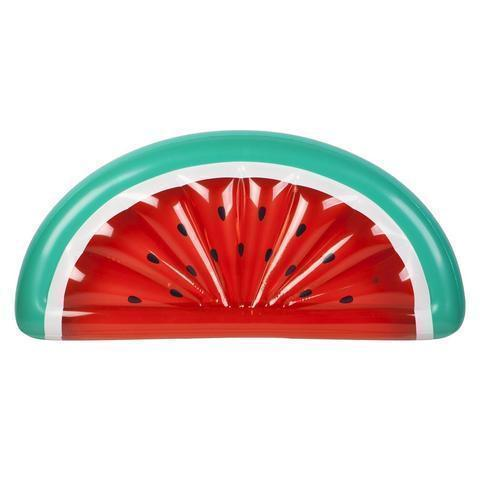 Inflatable Pool Float | Luxe Lie-On Float Watermelon- [variant_title]