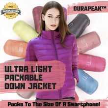 Load image into Gallery viewer, DuraPeak™ Ultra Light Packable Down Jacket- [variant_title]
