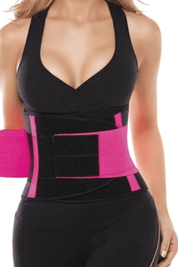 ADJUSTABLE PERFECT SIZE WAIST TRAINER- BLACK / M