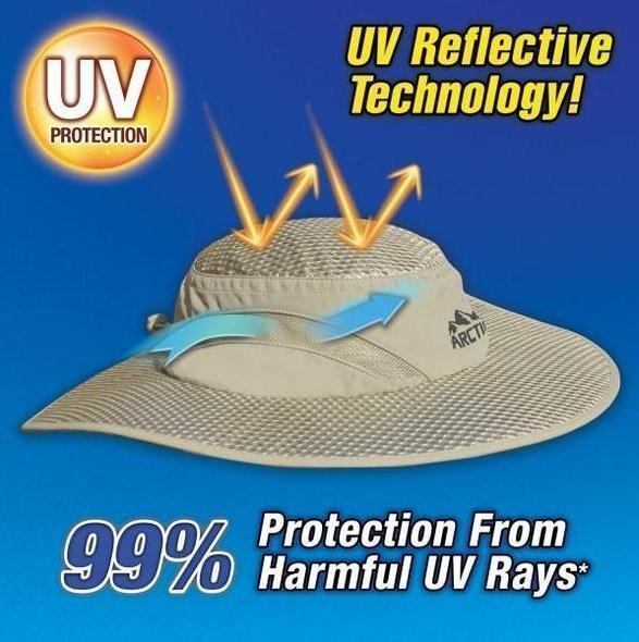 Arctic Hat | Evaporative Cooling Hat With UV Protection- Ball Cap