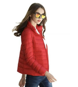 DuraPeak™ Ultra Light Packable Down Jacket- Red / Small