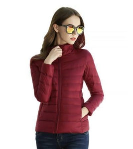 DuraPeak™ Ultra Light Packable Down Jacket- Maroon / Small