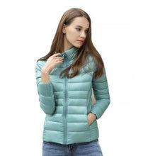 Load image into Gallery viewer, DuraPeak™ Ultra Light Packable Down Jacket- Teal / Small