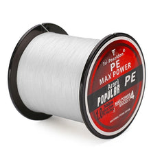 Load image into Gallery viewer, Multifilament PE-Braided Fishing Line | 330 Yard- White / 8 lb