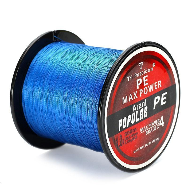 Multifilament PE-Braided Fishing Line | 330 Yard- Pick Your Color / 8 lb
