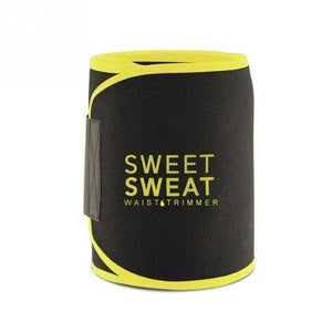 Sweet Sweat Belt | Neoprene Waist Trainer- Yellow / S