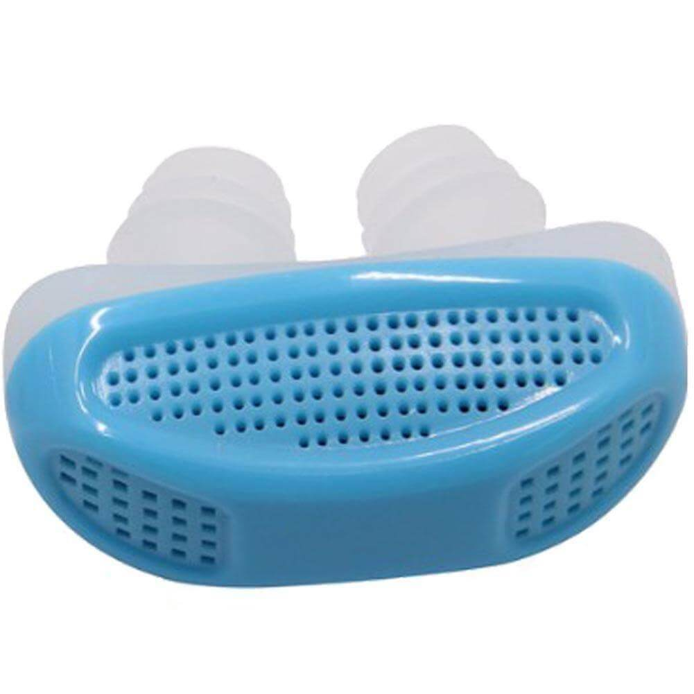 2 in 1 Anti Snoring and Air Purifier | Sleep Aid Mute Snore | Anti Snoring Device- Blue