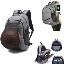 Load image into Gallery viewer, Basketball Backpack | USB Charging Sports Backpack- Pick Your Color