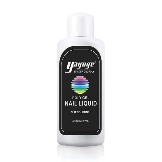Poly Gel Nails | Nail Enhancement Kit | Liquid Slip Solution- Poly Gel Liquid Slip Solution