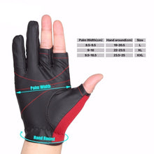 Load image into Gallery viewer, Sport Leather Fishing Glove 3 Half-Finger Breathable Anti-Slip- [variant_title]