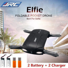 Load image into Gallery viewer, Elfie Quad-Copter- Foldable Mini Selfie Drone- [variant_title]