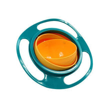 Load image into Gallery viewer, Gyro Bowl | 360 Rotating Bowl | Children No Spill Bowl- Green