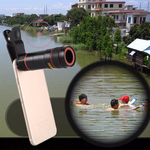 Universal HD12X Zoom Telescope For Phone | Mobile Phone Telescope- [variant_title]